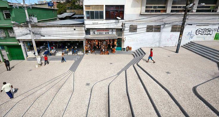 Ladeira_da_Barroquinha-Urban-Staircase-Brazil-Metro_Arquitectos-00 « Landscape Architecture Works | Landezine