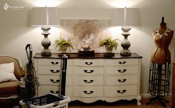 doing this to the dresser in the guest room