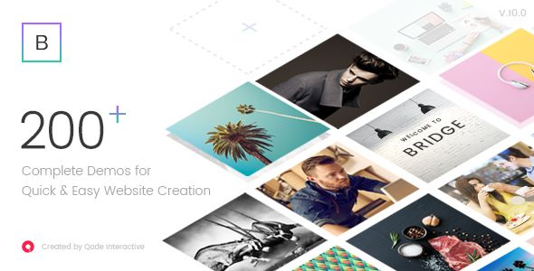 Bridge - Creative Multi-Purpose WordPress Theme - Creative WordPress