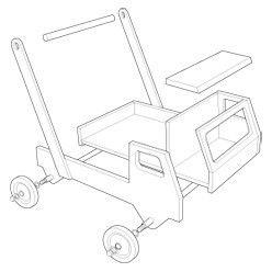 Fabriquer un camion trotteur