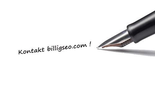 Kontakt BilligSEO.com for dine kampanjer innen PPC, SEO, SEM og salg.