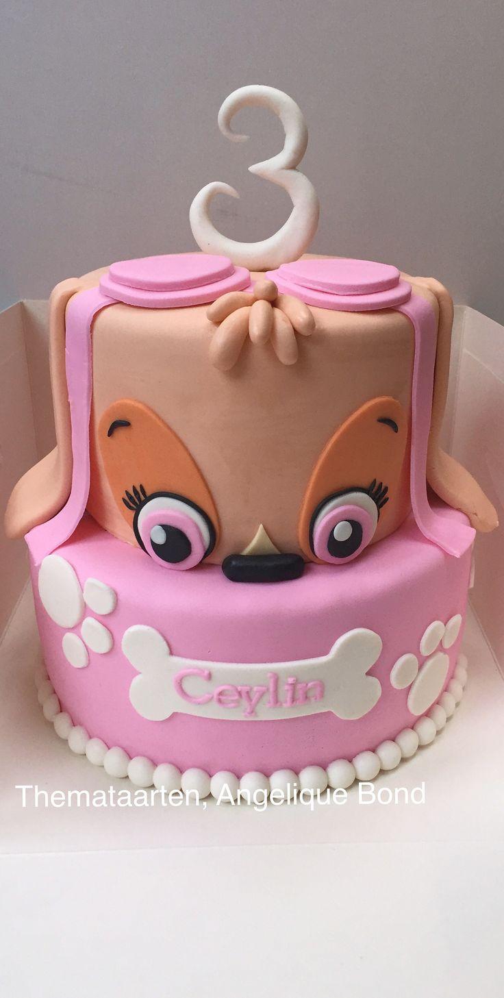 Paw Patrol Th Birthday Cake Skye