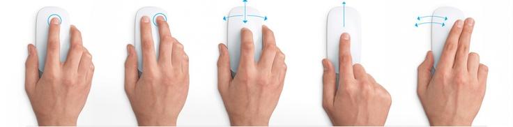 Apple - Magic Mouse - El primer ratón Multi-Touch del mundo