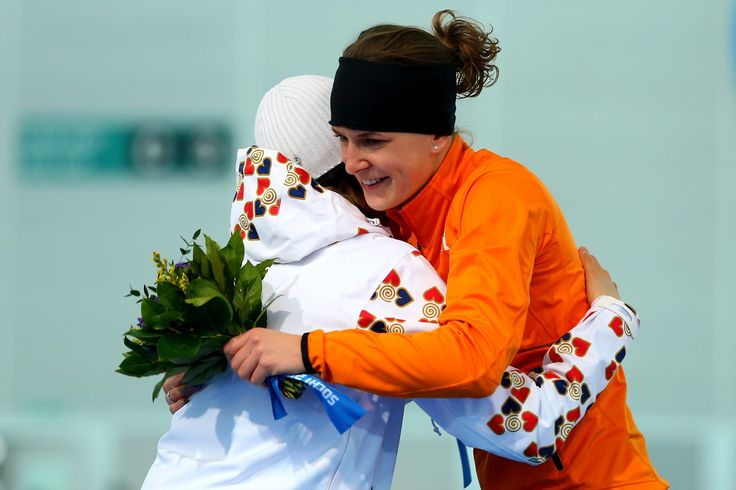 Dutch Speekskaters | Irene Wust Dutch speed skater won gold and two silver medals in Sochi ...