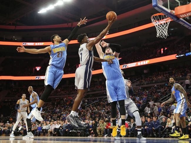Denver Nuggets vs. Detroit Pistons - 11/12/16 NBA Pick, Odds, and Prediction