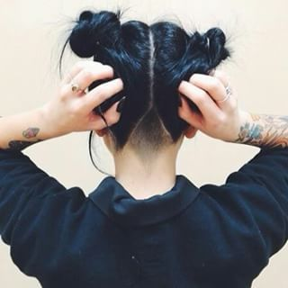 "Maybe this would make it more subtle when my hair's down? ""26 Undercuts That…"