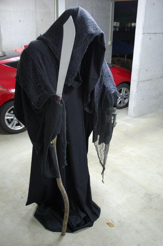 grim reaper Halloween prop idea