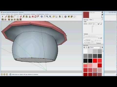 Tutorial para Sketchup en español. Creación de contenido 3D para mundos virtuales.