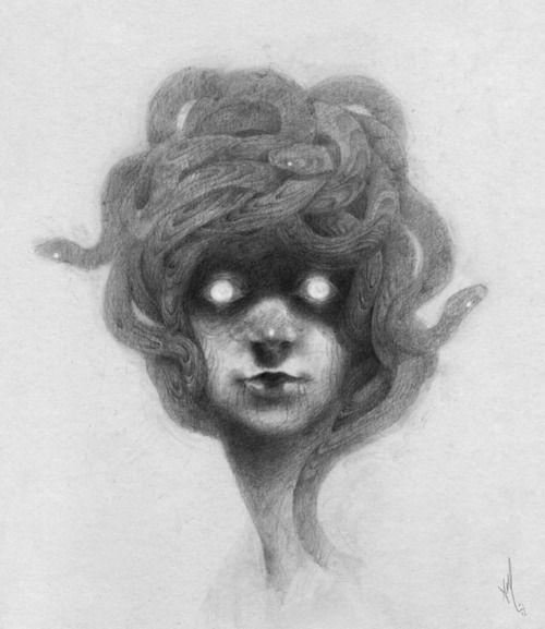 medusa: Ashley Mackenzie, Drawings Art, Illustrations, Artists Ashley, Outlets, Art Schmart, Creepy Stuff, Beautiful Art, Drawings Inspiration