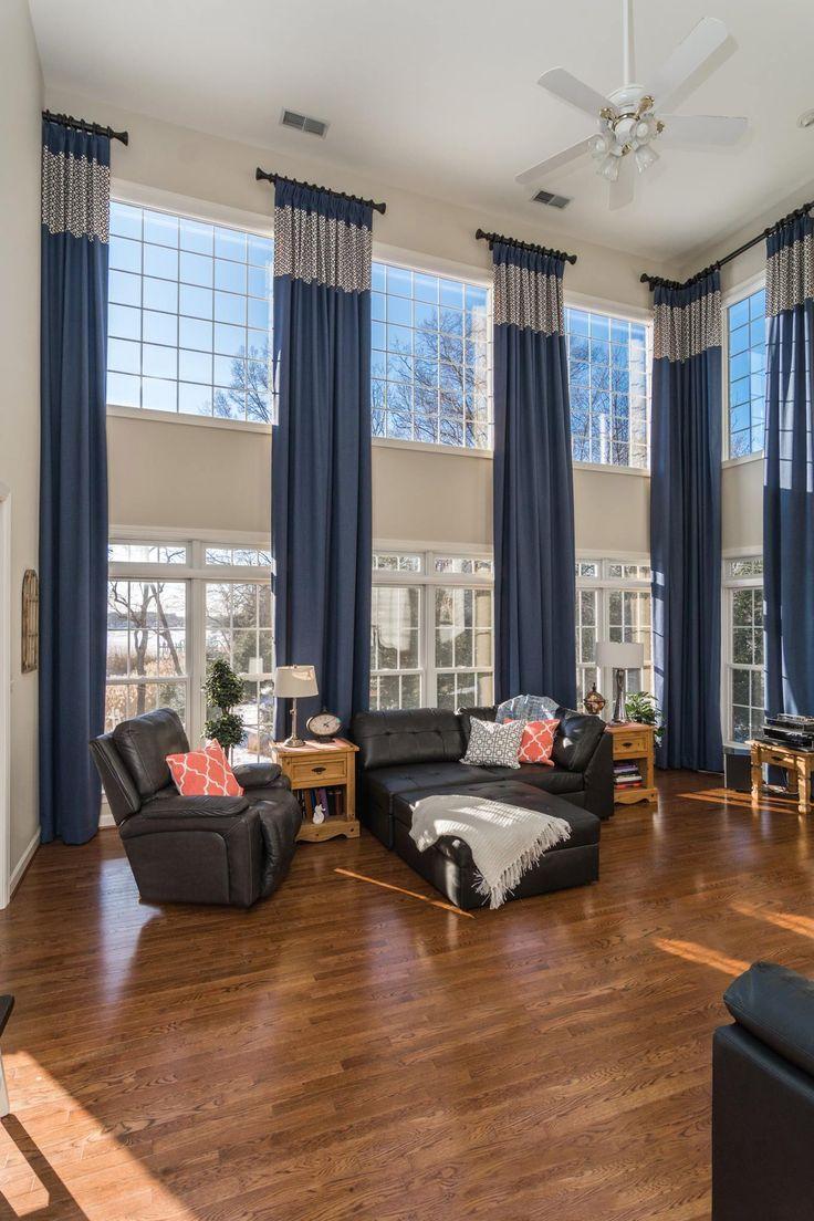 Best 25+ Tall window curtains ideas on Pinterest   Tall ...