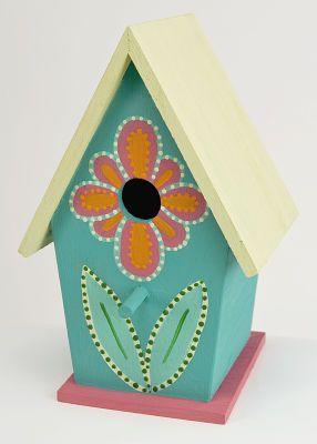 Summertime Birdhouse, large