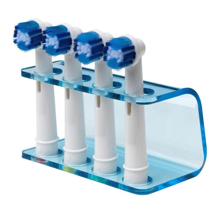 'S werelds best verkopende tandenborstel houder voor Oral B elektrische tandenborstel koppen. Seemii Helderblauwe Tandenborstelhouder Oral B.