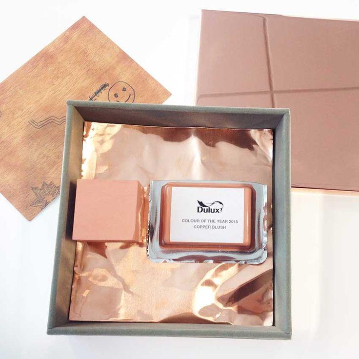 15 best images about copper blush dulux 2015 on. Black Bedroom Furniture Sets. Home Design Ideas