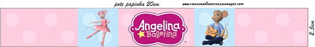 Imprimibles de Angelina Ballerina 12.