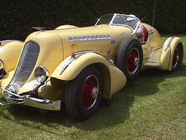 1934 Auburn Boatail Speedster