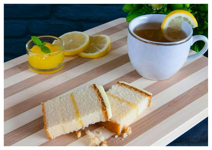 Lemon tea delightful