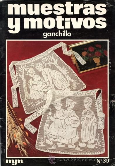 Revista *MUESTRAS Y MOTIVOS Nº 39 · Año 1981* - Ganchillo-Crochet -Talavera de la Reina- Ed. MYM