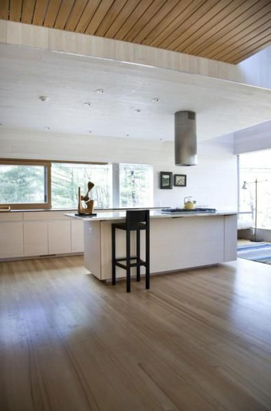 Home Design Wood Rooftop With Wood Floor Small Home Interior Design White Marmer Desk And A Black Wood Chair Country Rural Home Designs Plans with Open Floor Plan