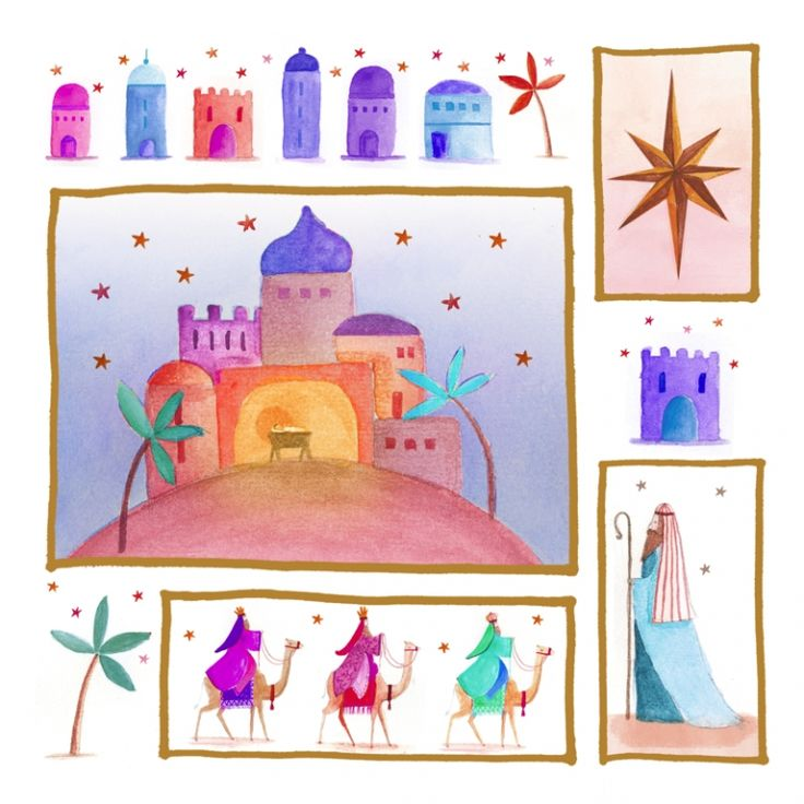 The Journey Tearfund Charity Christmas Cards