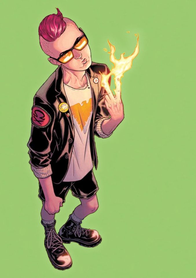 Quentin Quire Marvel Comic Character Marvel Kids Comic Books Illustration
