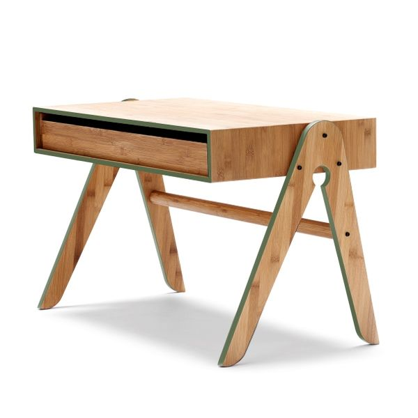 We:Do:Wood | Geos bord, grønne børnemøbler | Emanuels Design Shop