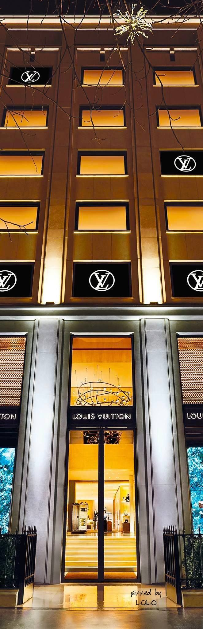 "Louis Vuitton Paris on the Avenue des Champs-Élysées is six floors of heavenly shopping. Just remember to look for the ""Red Scarf"" to assist you."