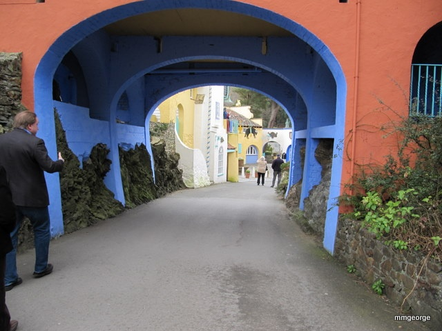 more great color from Port Meirion, Wales