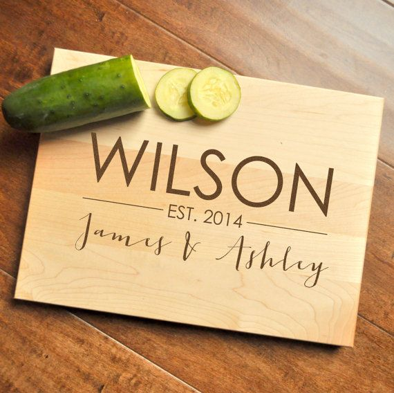 Personalized Cutting Board                                                                                                                                                      More