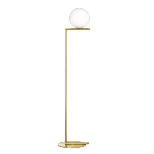 Flos - IC light F1 - Standerlampe - lille - messing