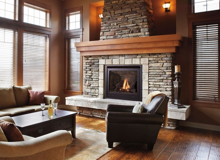 Fireplace design and Direct vent gas fireplace
