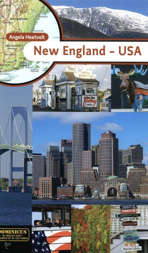 Dominicus New England - USA -Angela Heetvelt - 9789025748395. De zes noordoostelijkste staten van Amerika vormen samen een bijzonder deel van het land: New England. Vijf ervan grenzen direct aan de Atlantische Oceaan. Het is een uitgelezen gebied voor wie een combinatie zoekt van cultuur en natuur, en bovendien goed bereikbaar. De stad Boston is het levendige en boeiende...GRATIS VERZENDING - BESTELLEN BIJ TOPBOOKS VIA BOL COM OF VERDER LEZEN? DUBBELKLIK OP BOVENSTAANDE FOTO! #reisgidsen