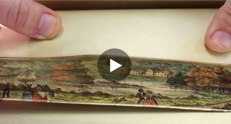 Alcuni antichi libri nascondono un meraviglioso segreto: le loro pagine celano dei dipinti. Questa forma d'arte risale al Seicento ed è chiamataFore Edge
