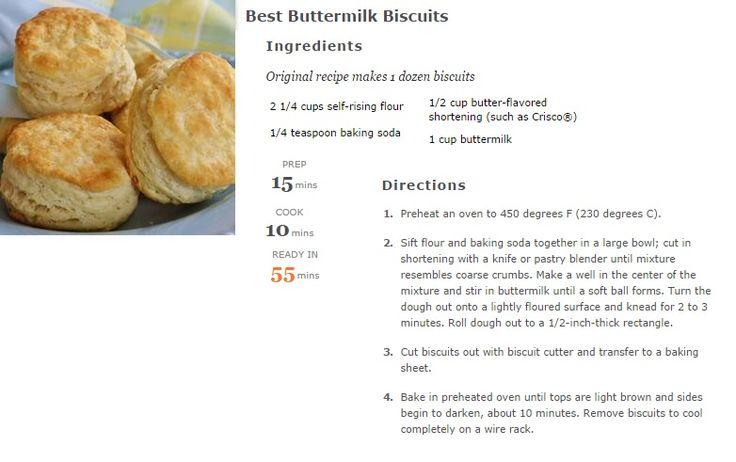 Newfoundland Tea Biscuits