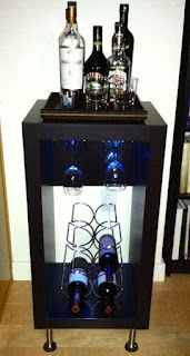 18 best mini bar images on pinterest mini bars bar cabinets and home ideas. Black Bedroom Furniture Sets. Home Design Ideas