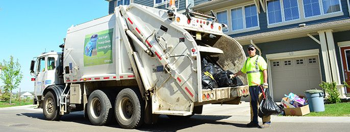The City of Edmonton diverts up to 60% of household waste from landfill through recycling and composting. The organic portion of your household waste is sorted out and composted.