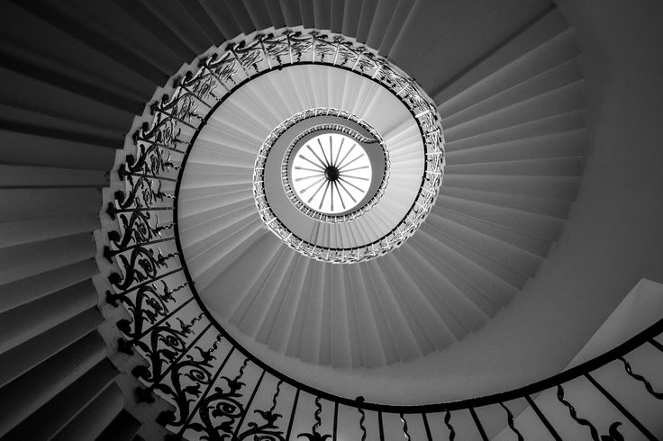 Tulip Staircase (Greenwich) by Andrei Dumitriu on 500px