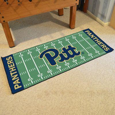 FANMATS NCAA University of Pittsburgh Football Field Runner