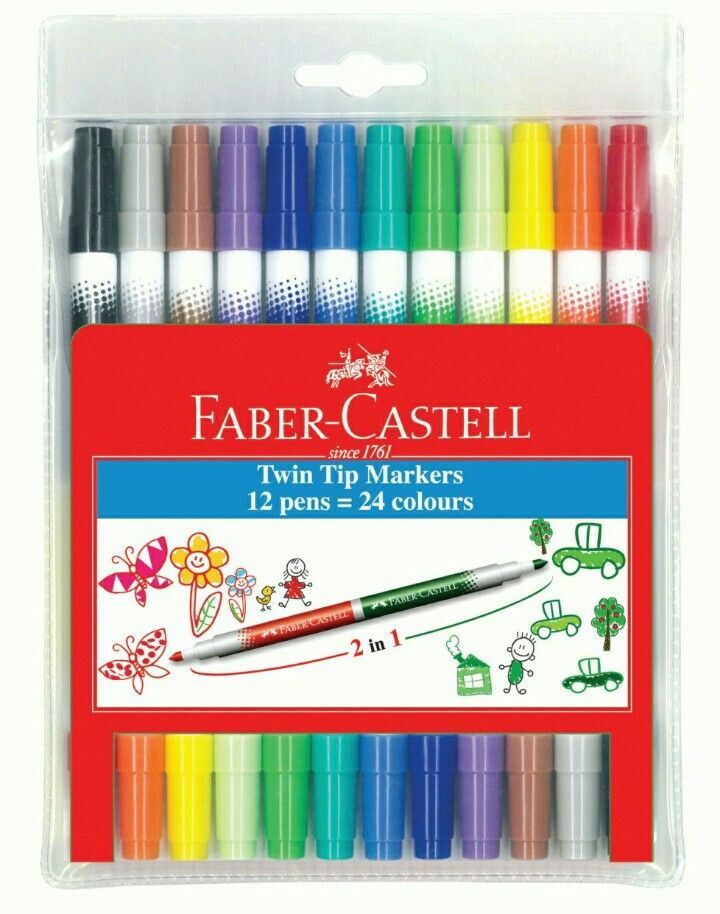 Faber-Castell duo tip