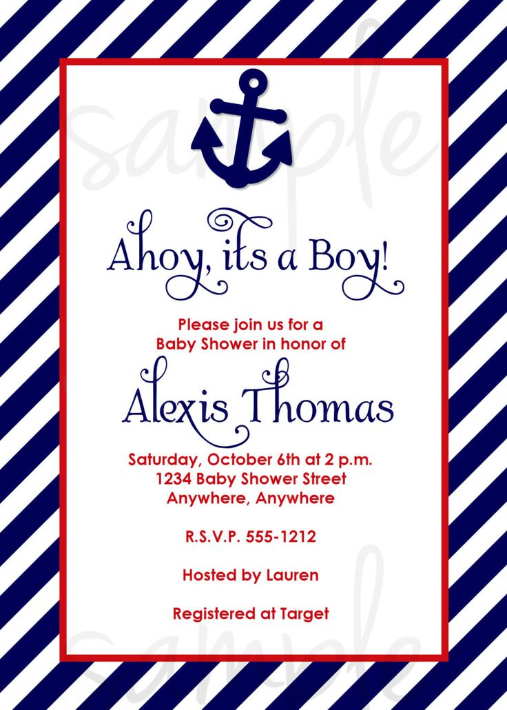 48 best Baby Boy Shower-Nautical images on Pinterest | Boy shower ...