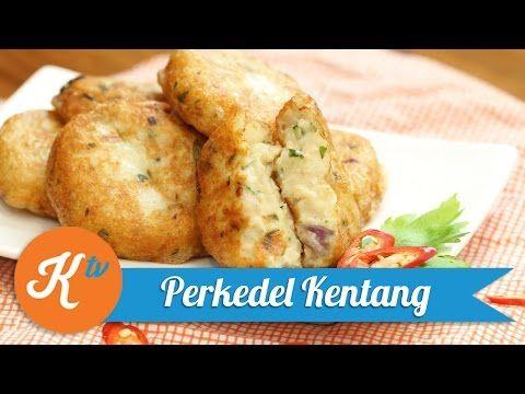 Siapa sih yang gak tau perkedel kentang? Makanan ini biasanya foodies temui di restauran, bahkan di warteg    sumber : Youtube.com byKokiku Tv