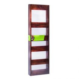 showcase your magazines in style and invest in a house of york wallmounted magazine rack