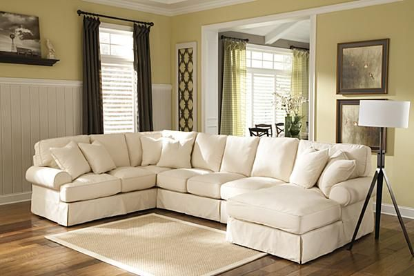 The Kinning Linen Sectional From Ashley Furniture Homestore With The Casual