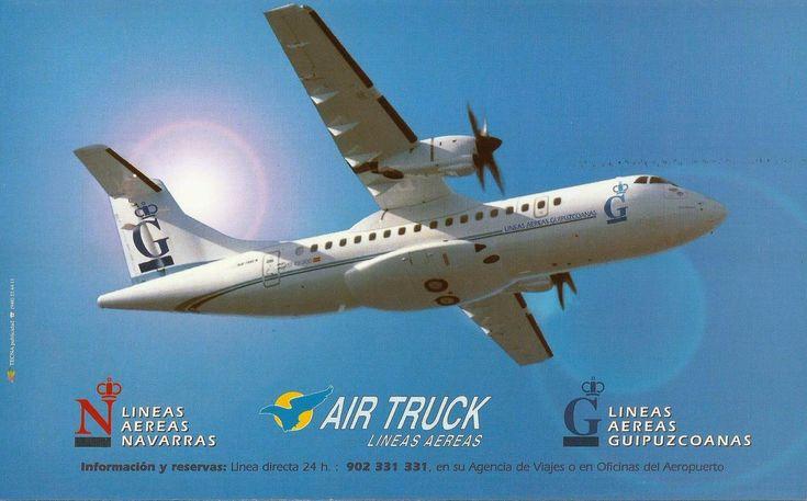 Airline memorabilia: Lineas Aereas Navarras