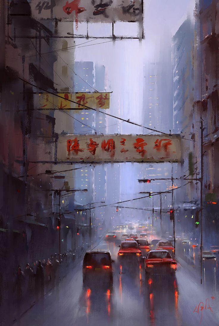ArtStation - HongKong, Ivan 小红花