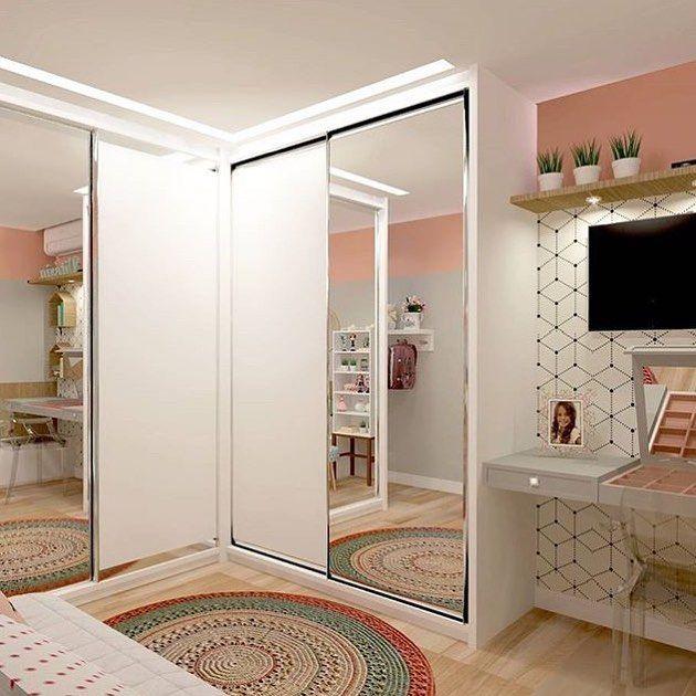 Outro ângulo deste quartinho pra lá de fofo. Amei Projeto Criar Interiores Me encontre também no @pontodecor {HI} Snap: hi.homeidea http://ift.tt/23aANCi #bloghomeidea #olioliteam #arquitetura #ambiente #archdecor #archdesign #hi #cozinha #homestyle #home #homedecor #pontodecor #iphonesia #homedesign #photooftheday #love #interiordesign #interiores #picoftheday #decoration #world #varandagourmet #lovedecor #architecture #archlovers #inspiration #project #regram #outubrorosa