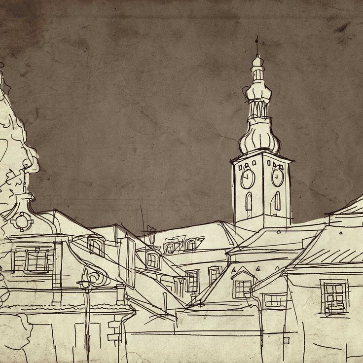 Tabor City (illustration - tablet)