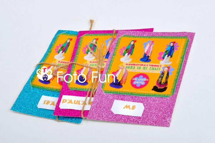 5th Birthday card, Matrioshkas theme, from PT´s Foto Fun