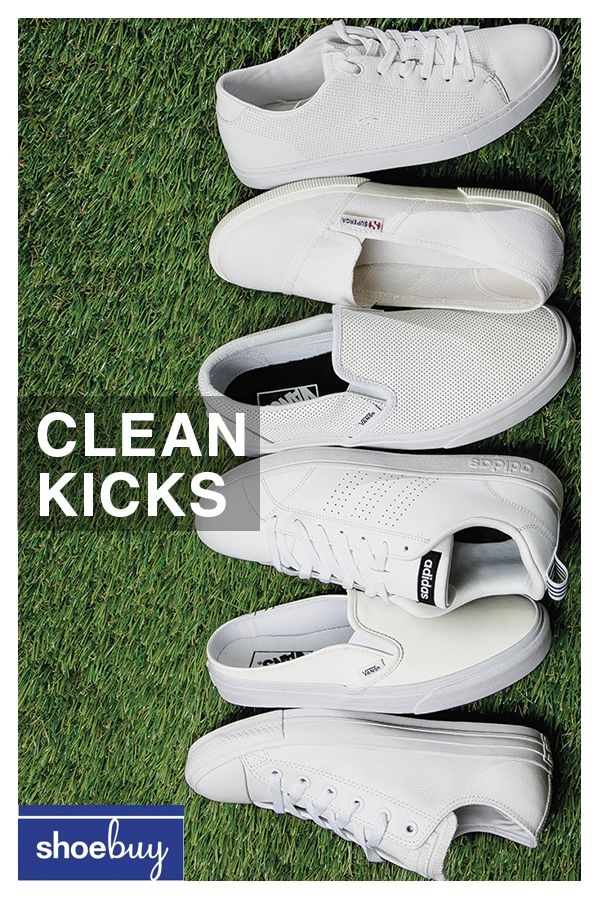 36bda6651d5 Fancy whites! From Converse and Vans to Keds