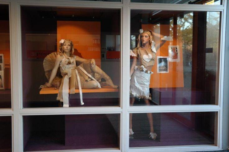 Papieren mode op het Groenhorst College. Goed gelukt of niet?
