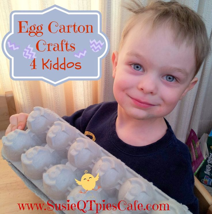 Egg Carton Crafts For Kids Easy Projects For Boys